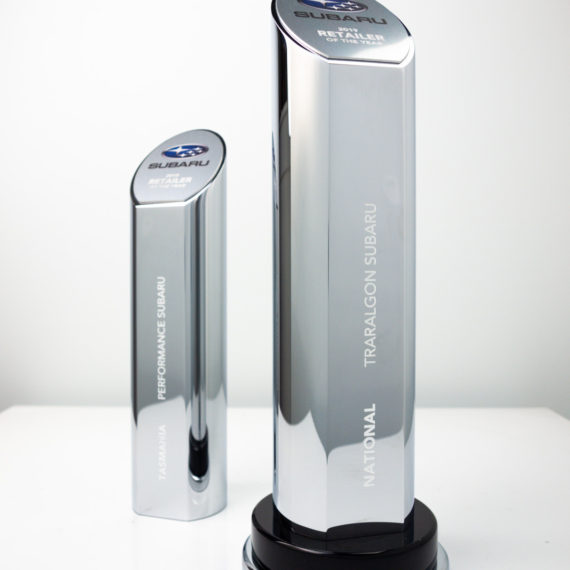 Subaru Award Trophies