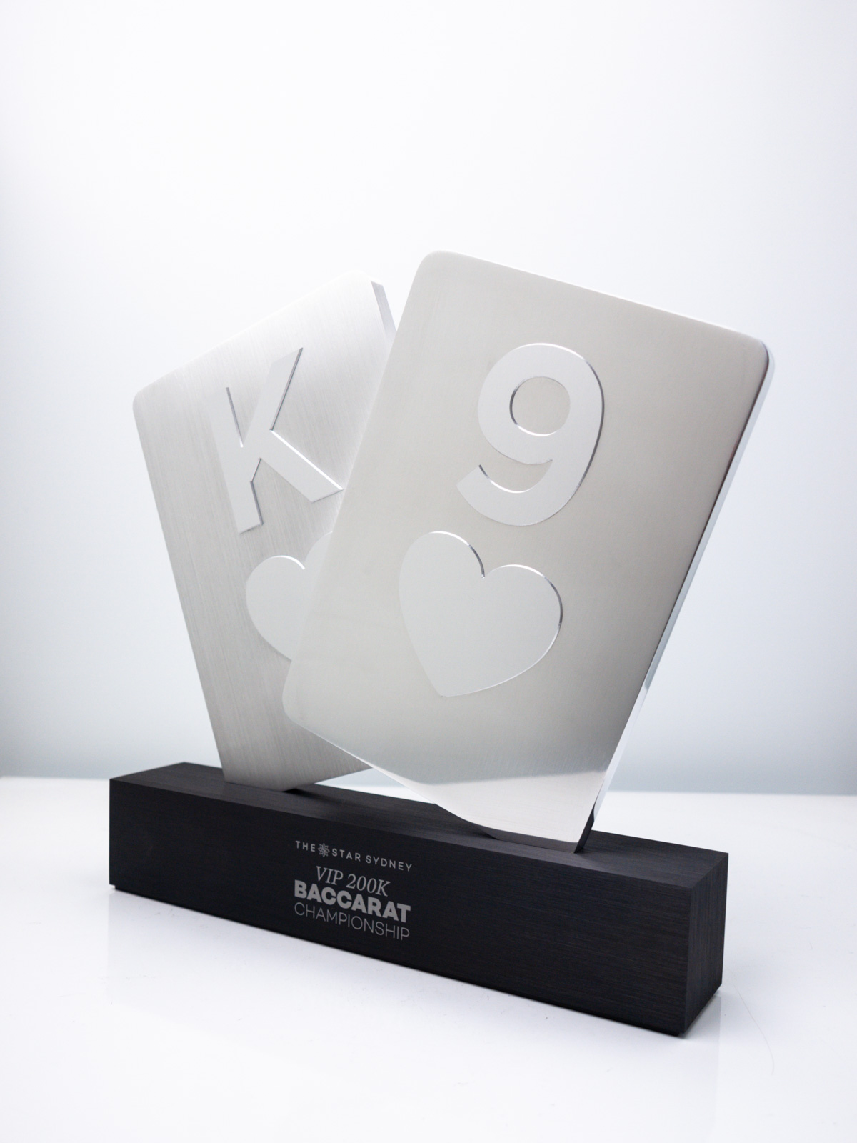 The Star Baccarat Championship Award Trophy