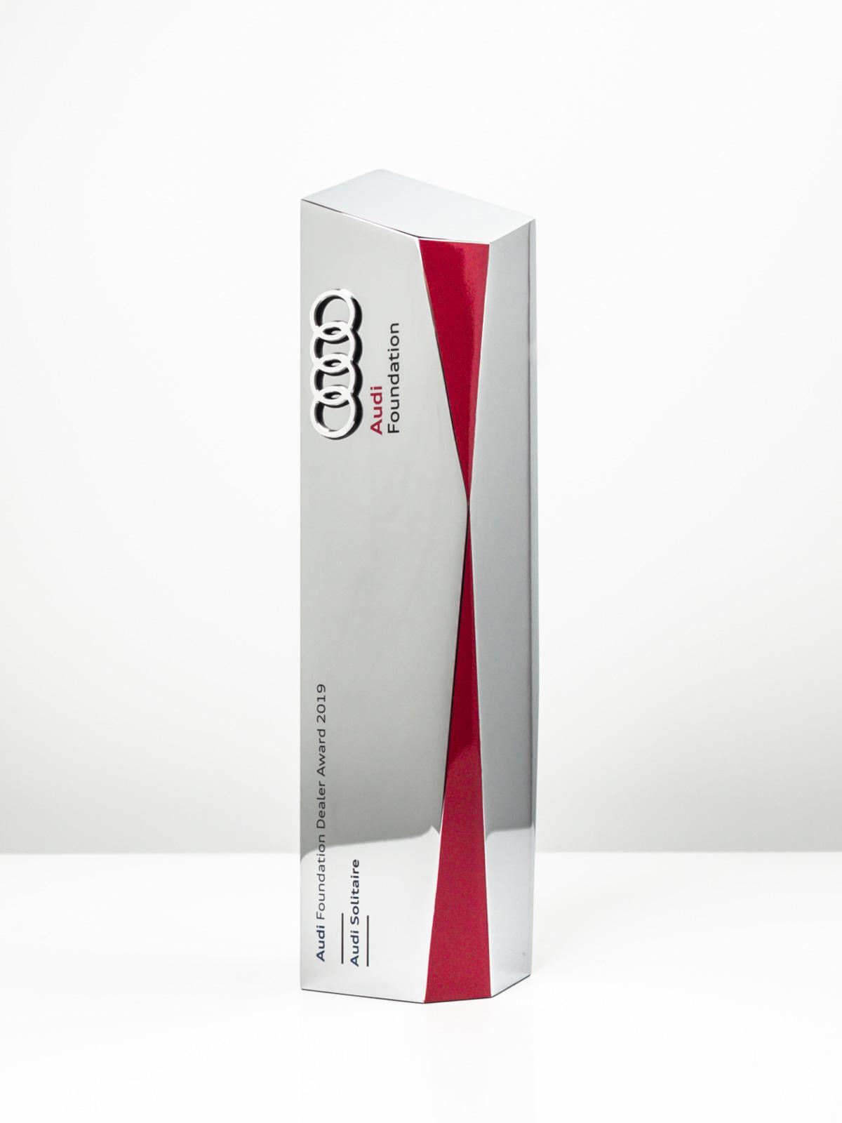 Audi Dealer of the Year Bespoke Award Trophy