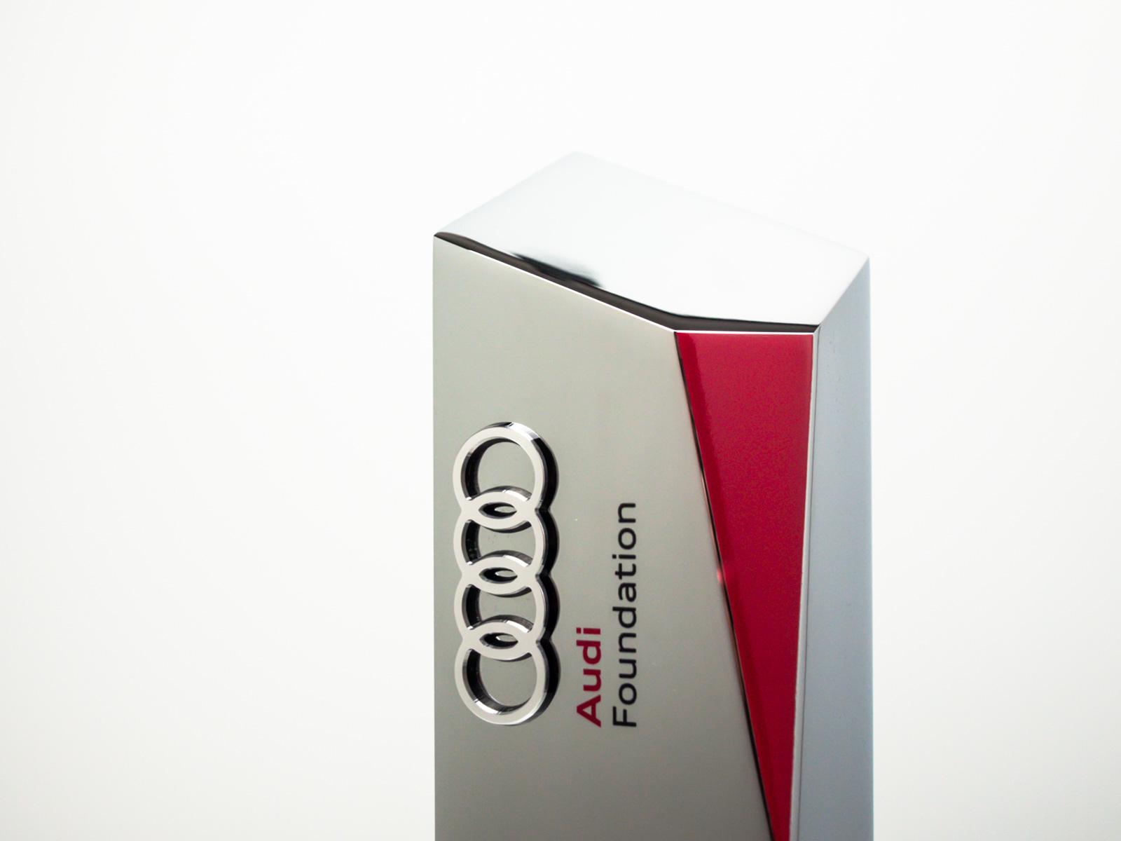Audi Dealer of the Year Bespoke Awards Detail