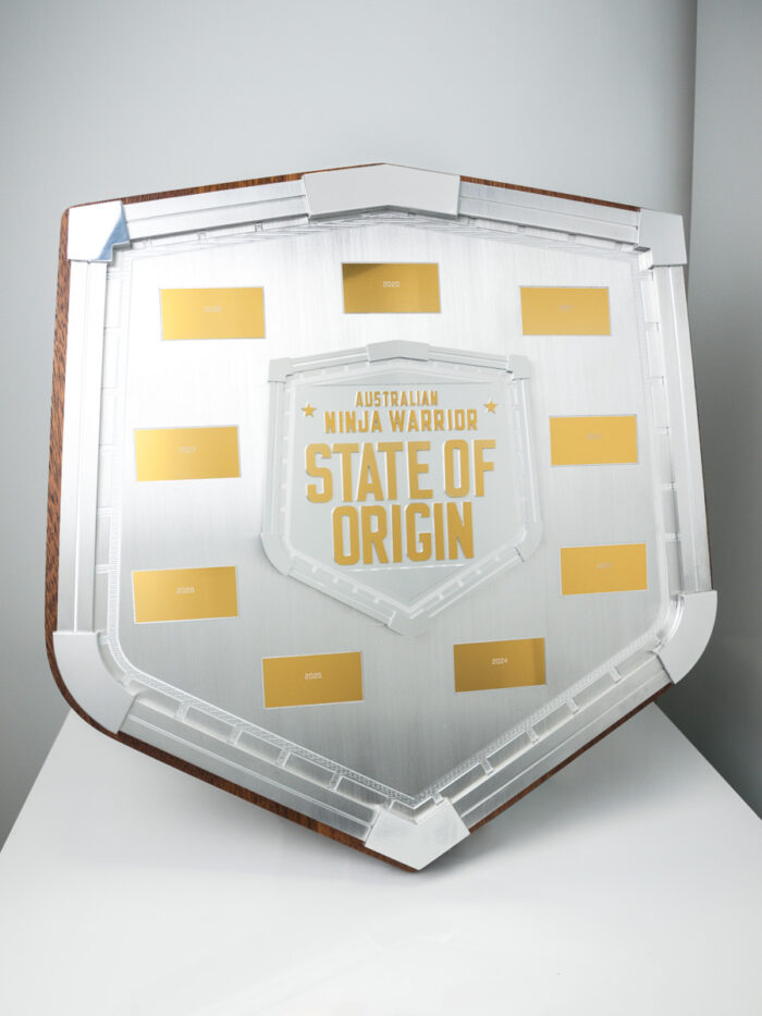 Australian Ninja Warrior State of Origin Perpetual Plaque