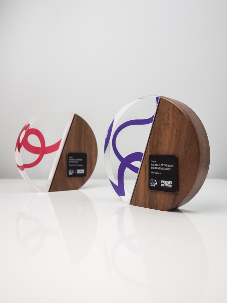 Coca Cola Amatil Custom Awards