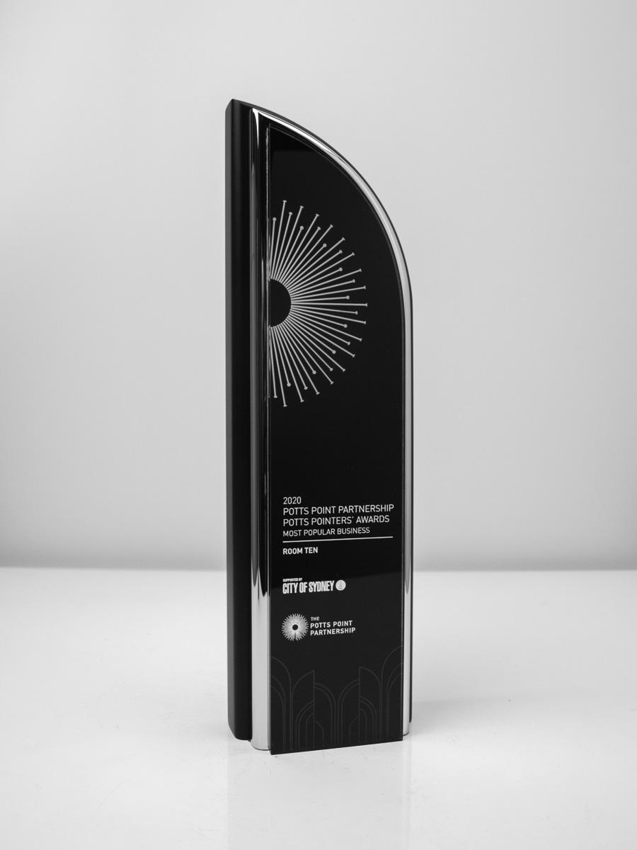 The Potts Point Partnership Award Trophy