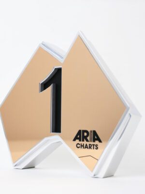 ARIA Charts Number 1 Trophy Gold