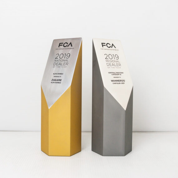 Fiat Chrysler Award Trophies