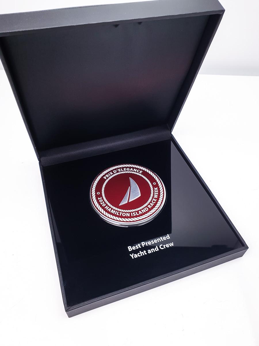 Hamilton Island Prix D'Elegance Medallion