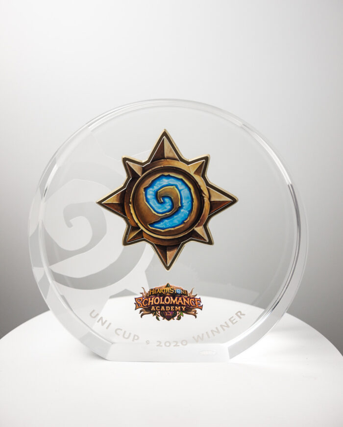 The Hearthstone Scholomance Academy Trophy