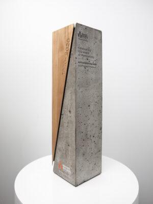 Masters Builders Custom Concrete Trophy