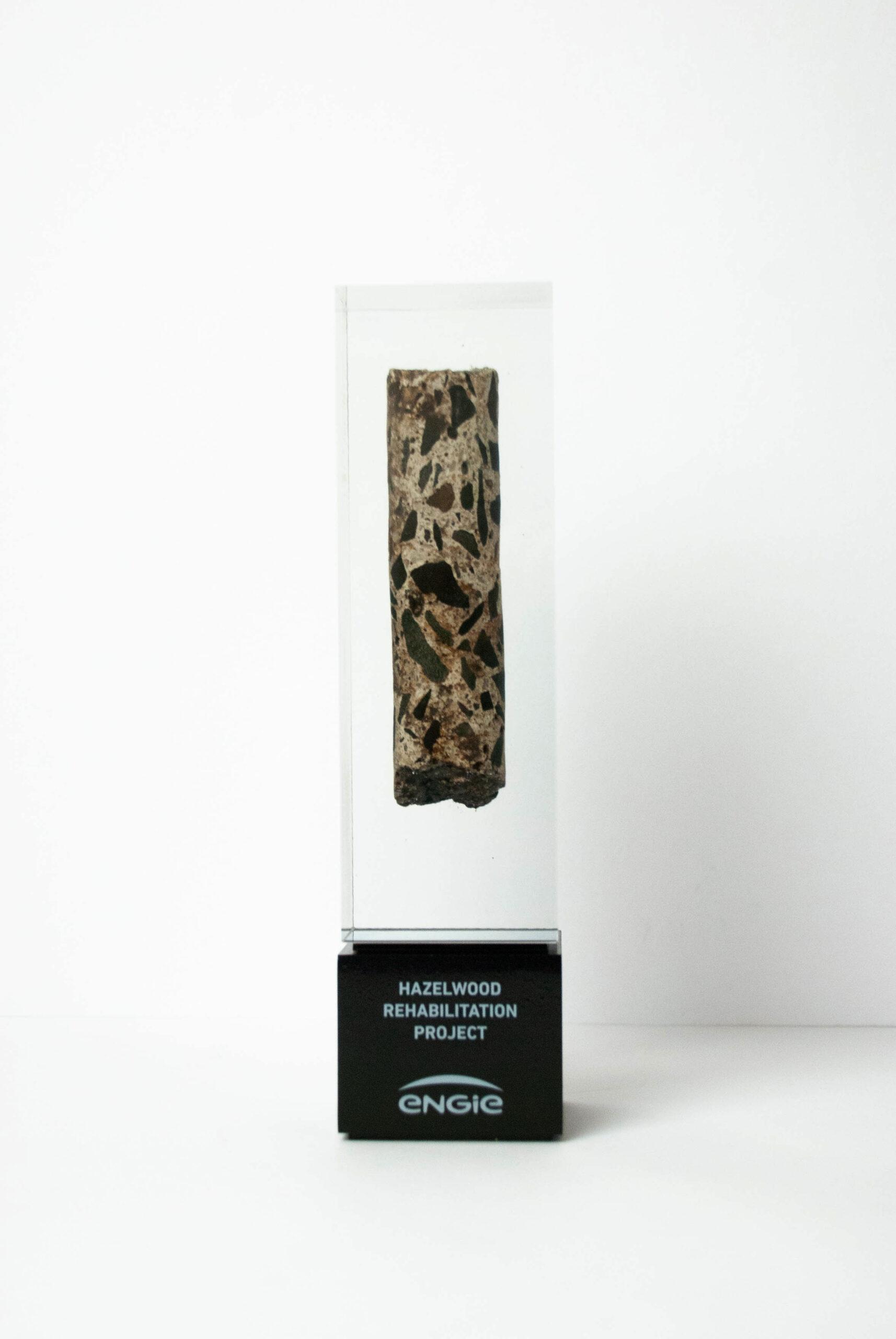 The Engie Custom Resin Award Memento