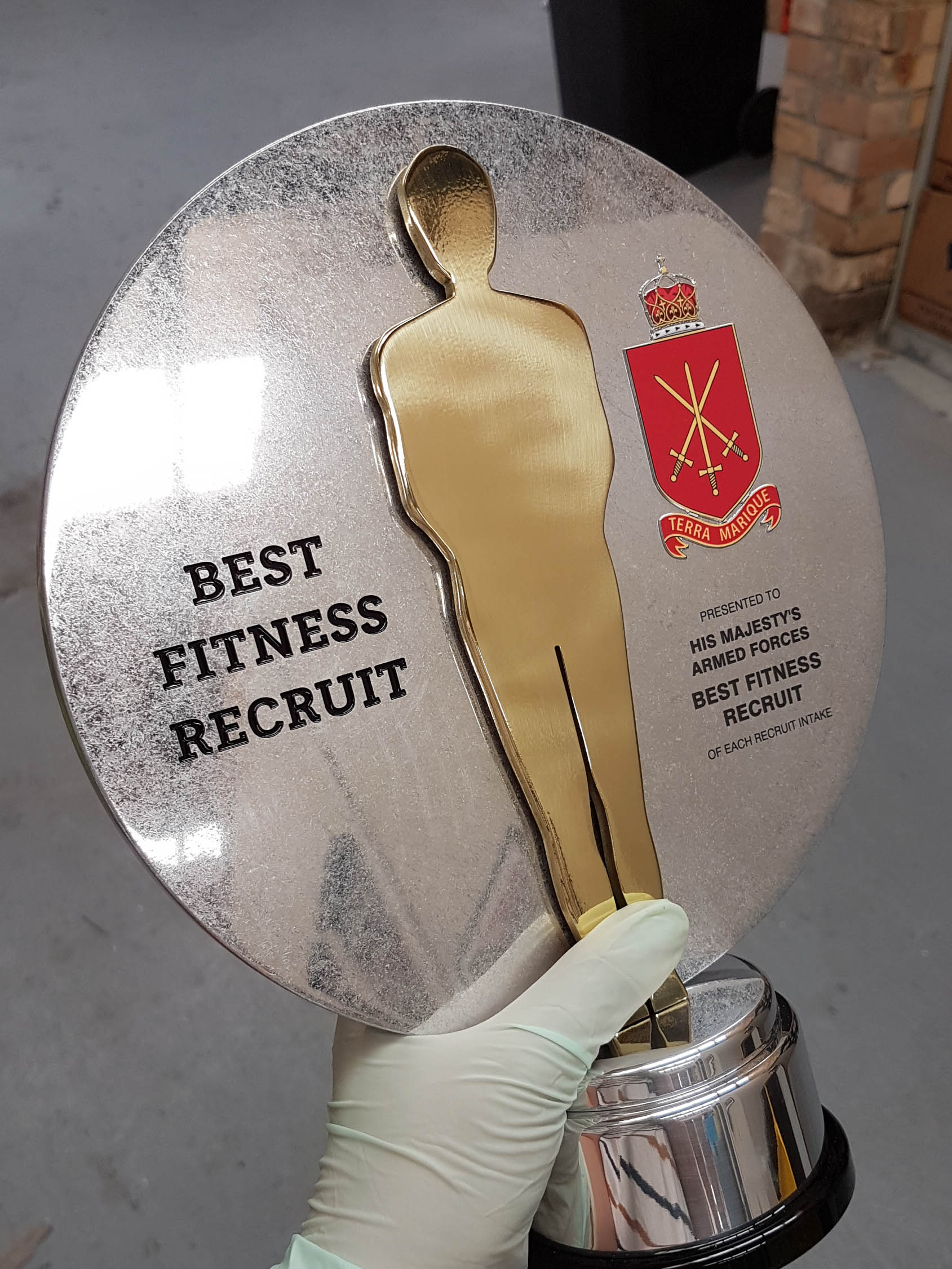 Making the HMAF Best Fitness Recruit Award