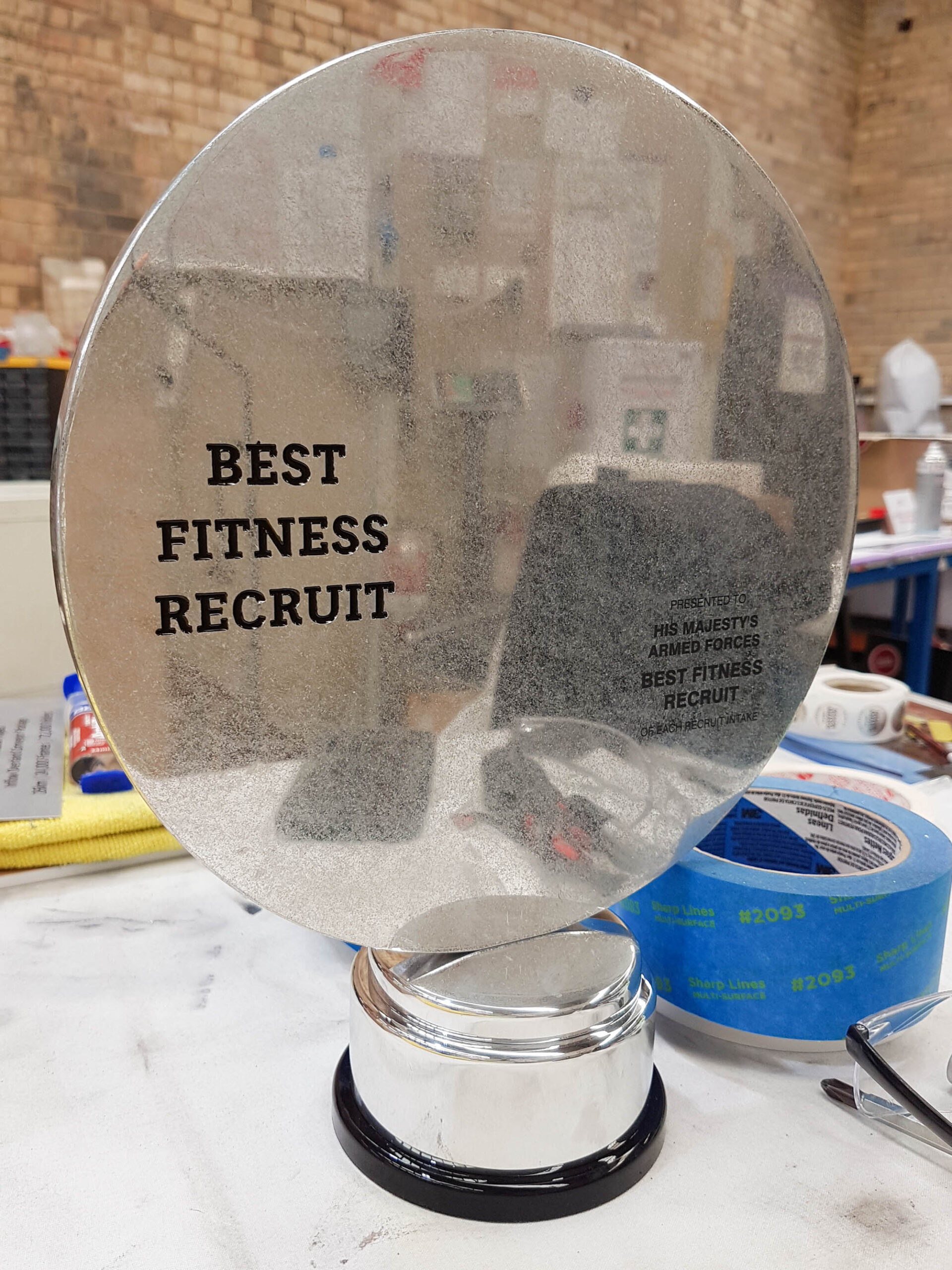 Making of the HMAF Best Fitness Recruit Award