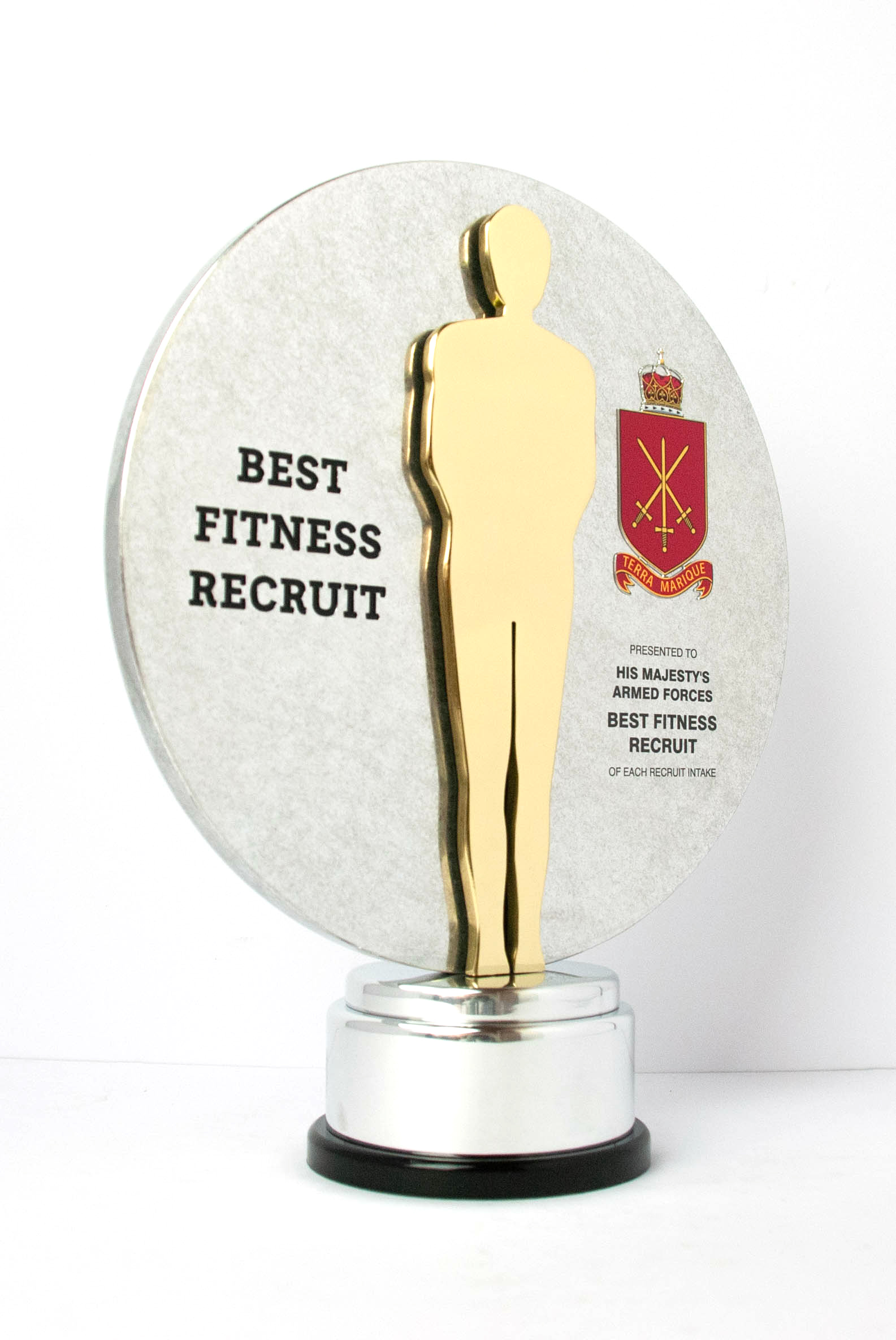 HMAF Best Fitness Recruit Bespoke Award