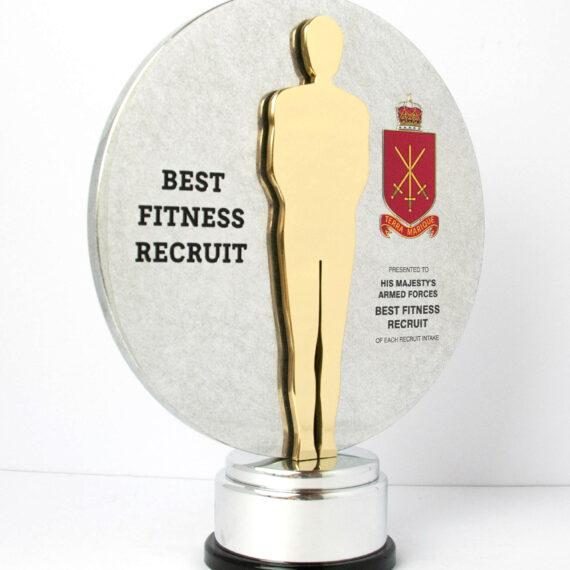 HMAF Best Fitness Recruit Custom Award