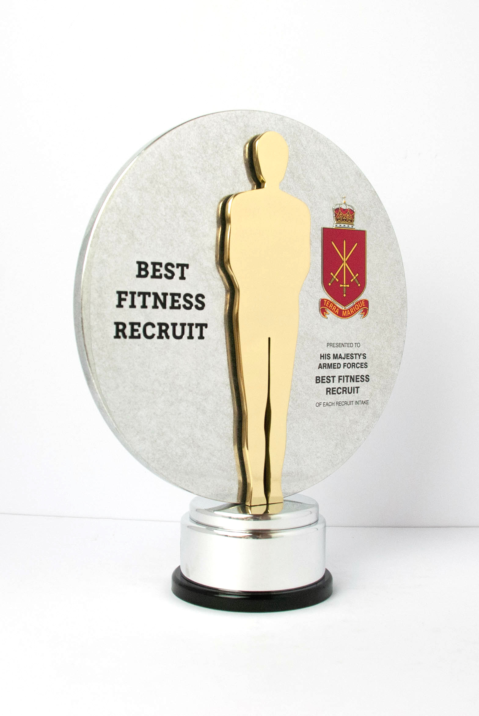 HMAF Best Fitness Recruit Custom Award