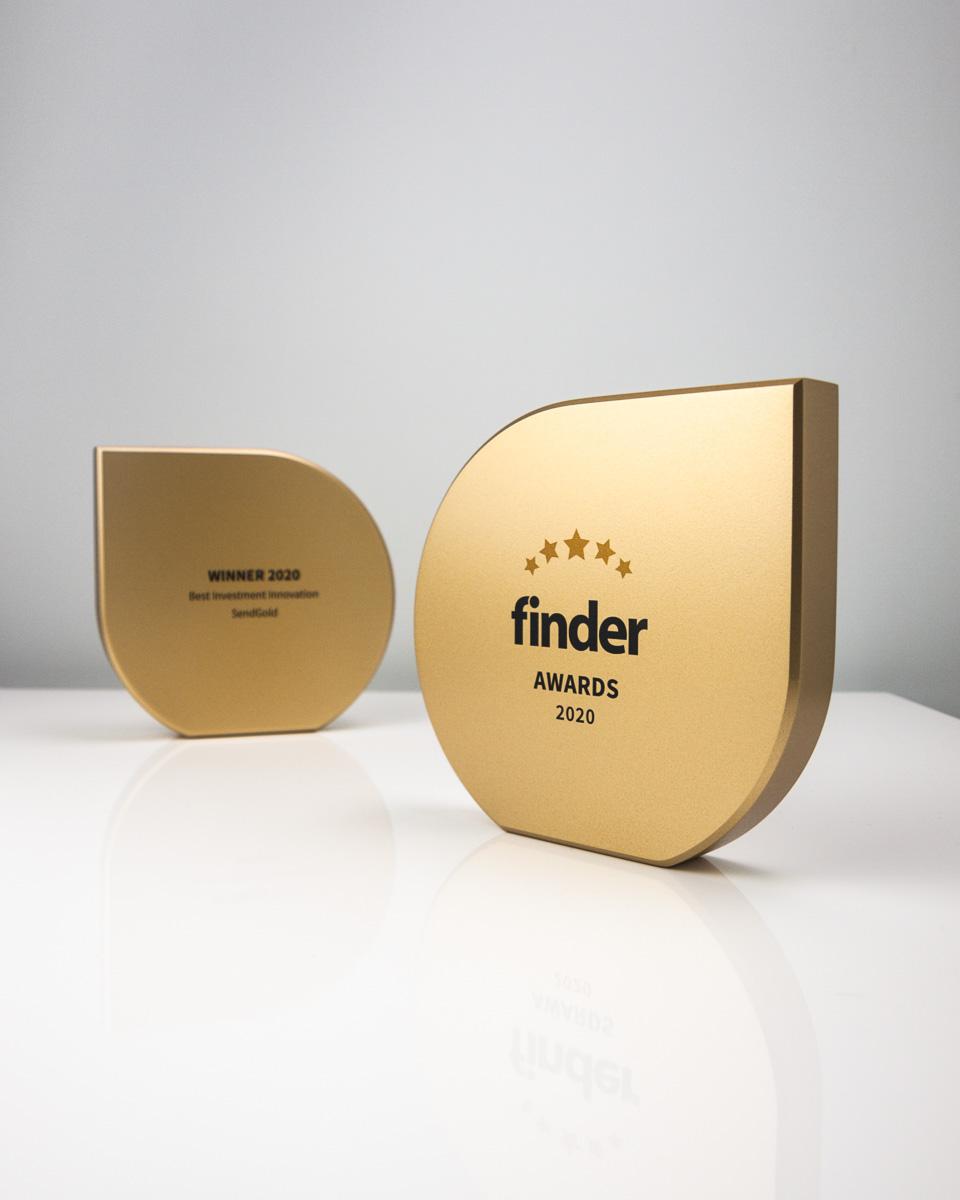 The Finder Awards - Custom Made Awards Australia