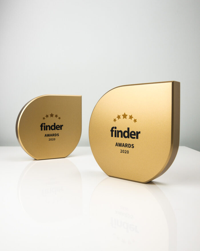 The Finder Awards - Custom Award Trophies