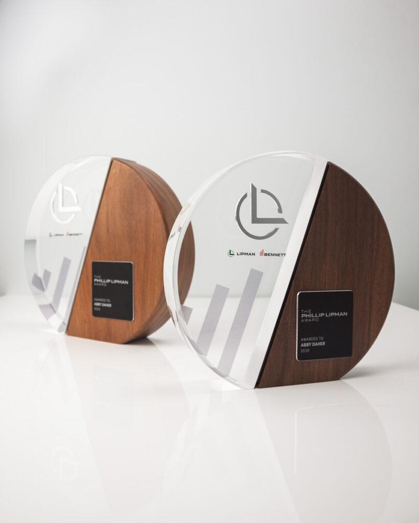 The Phillip Lipman Award Cumulus Trophy