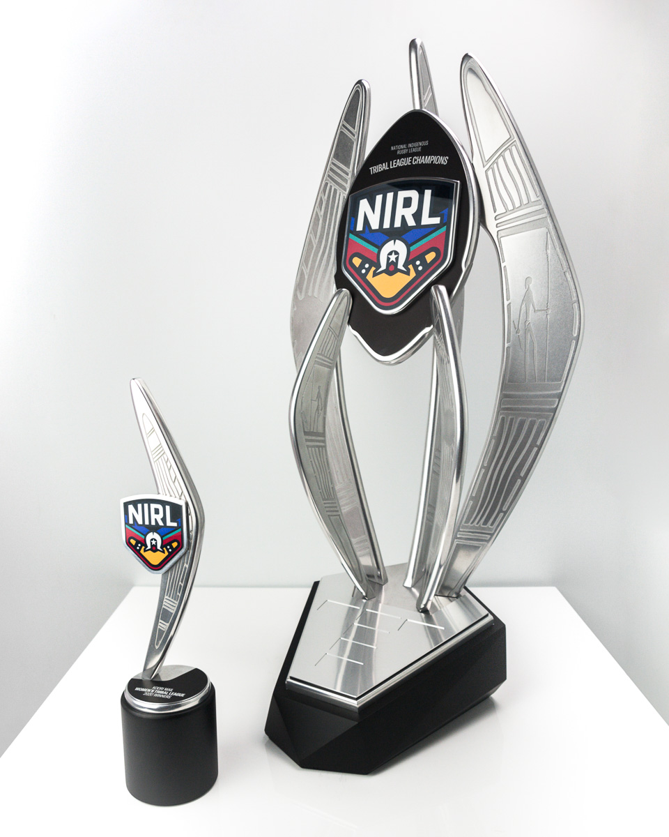 The NIRL Tribal League Championship Perpetual Trophy