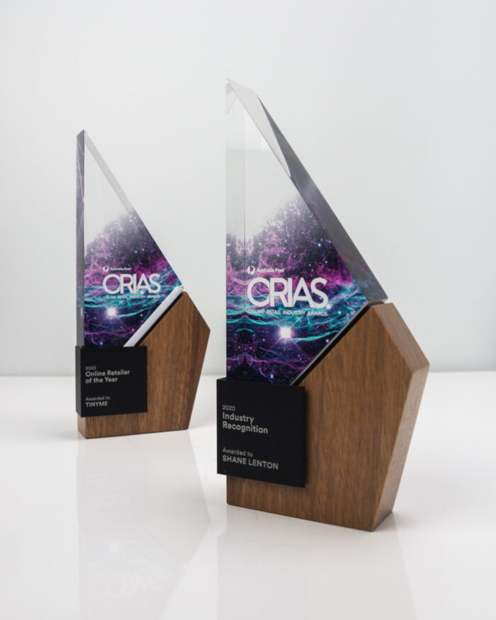 The Online Retail Industry Awards Trophies