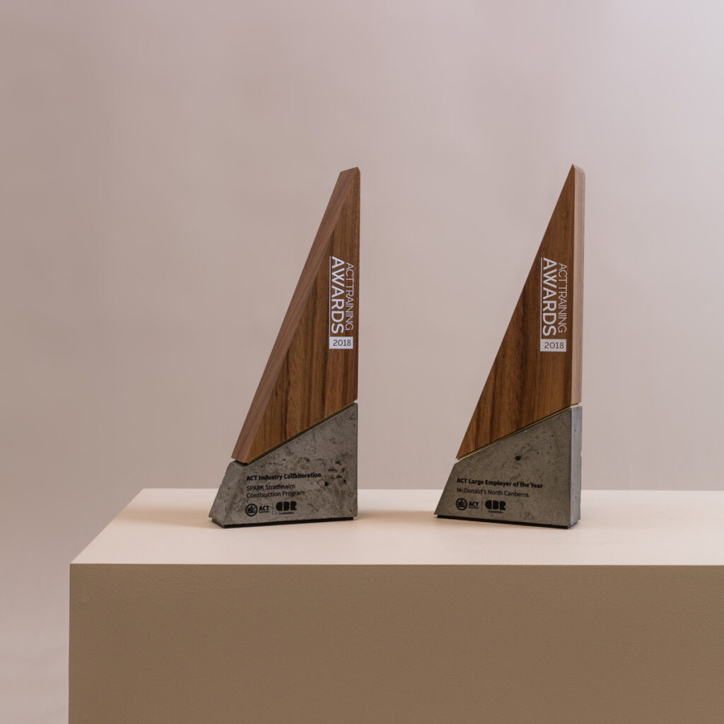 ACT Training Awards Concrete and Sustainable Timber Spire
