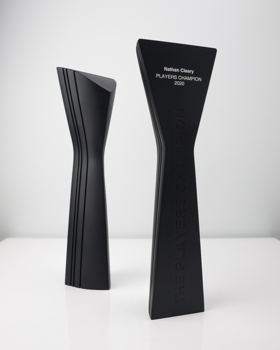 The Rugby League Player's Association Player's Champion Award Trophy