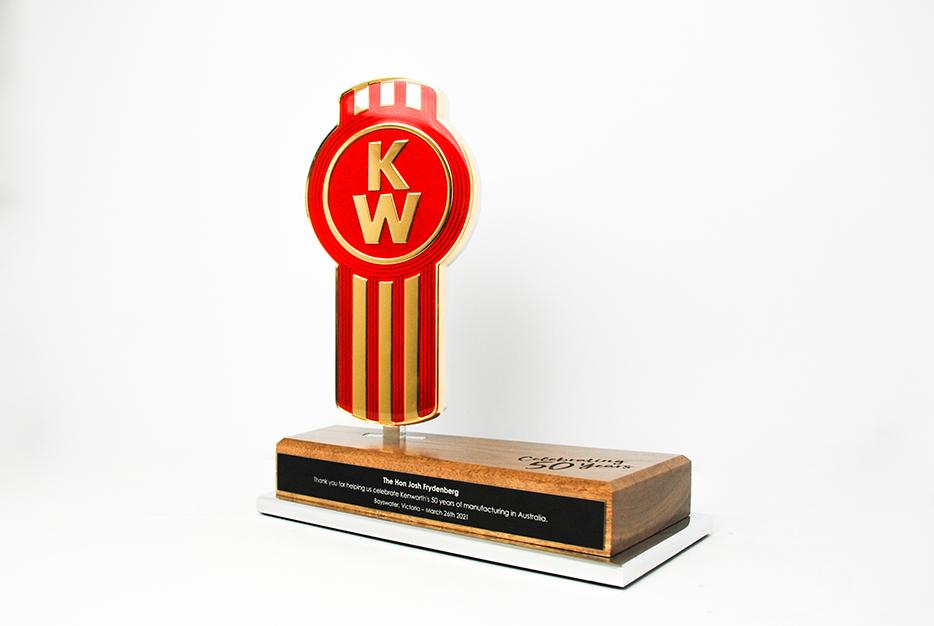Kenworth Golden Bug Bespoke Commemorative Award