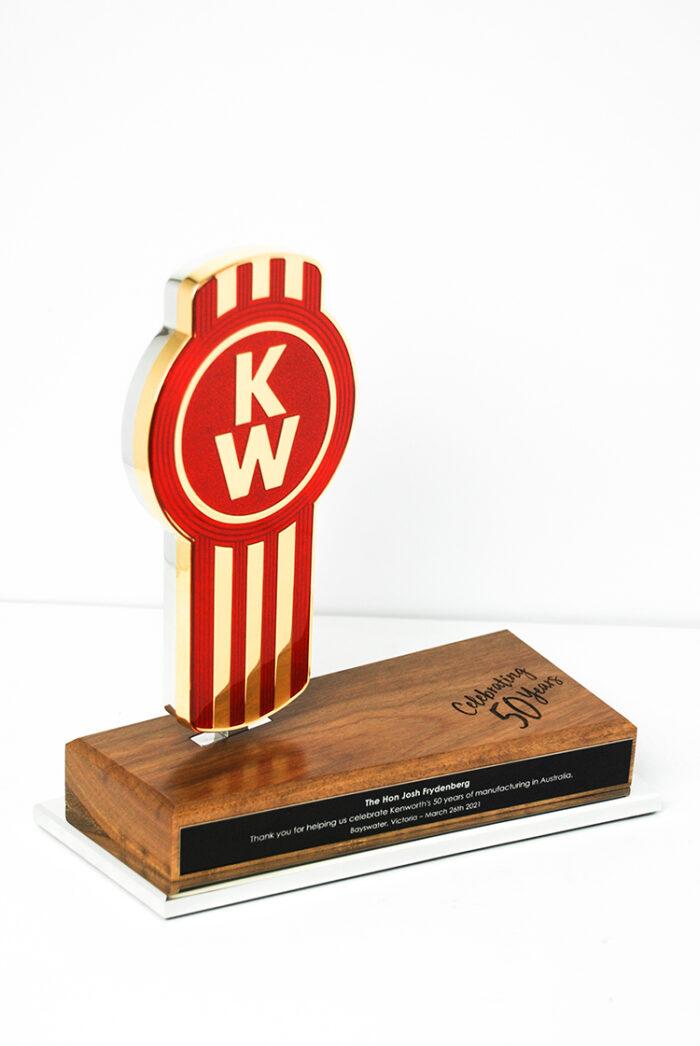 Kenworth Golden Bug Bespoke Commemorative Trophy
