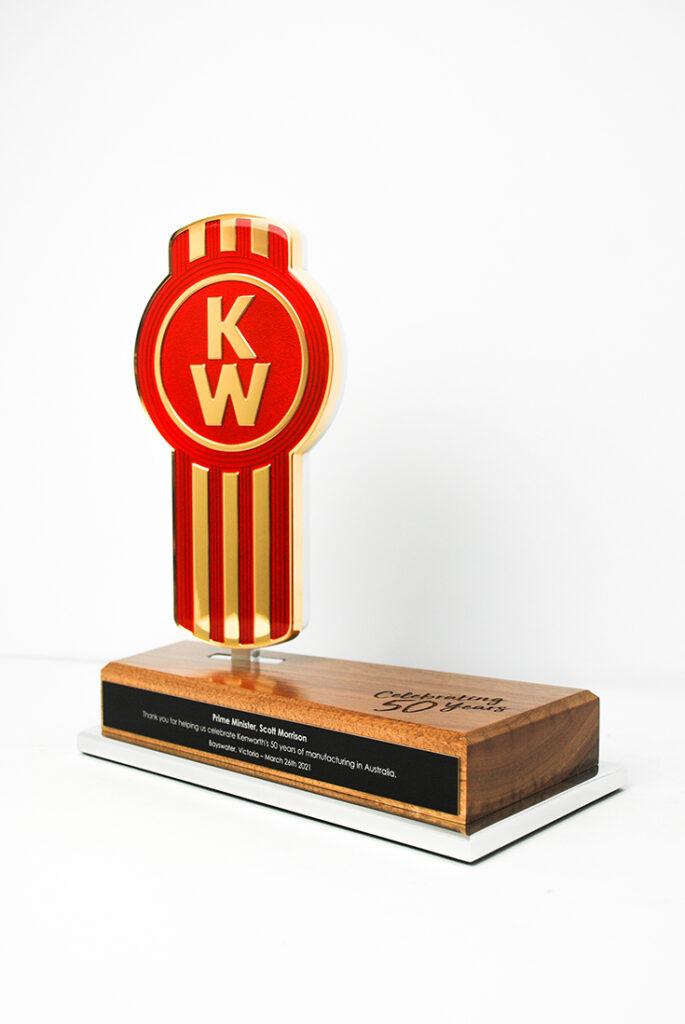 Kenworth Golden Bug Commemorative Award Trophy