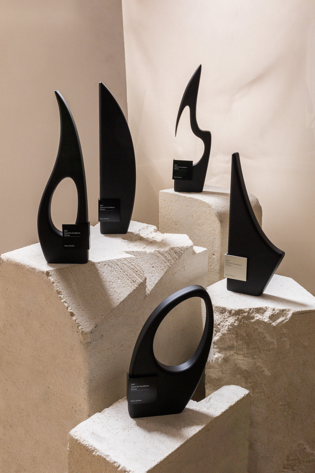 Design Awards Arthouse Collection Trophies