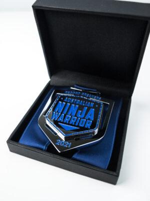 Australian Ninja Warrior Record Breaker Bespoke Medallion