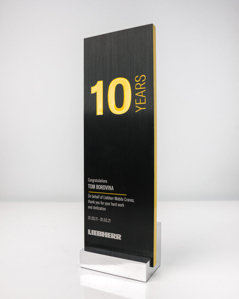 Liebherr Long Service Recognition Award Melbourne