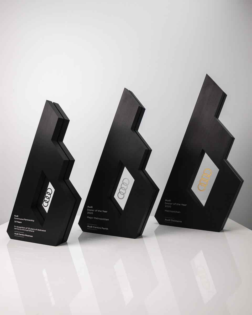 The Audi Dealer of the Year Custom Trophies Australia