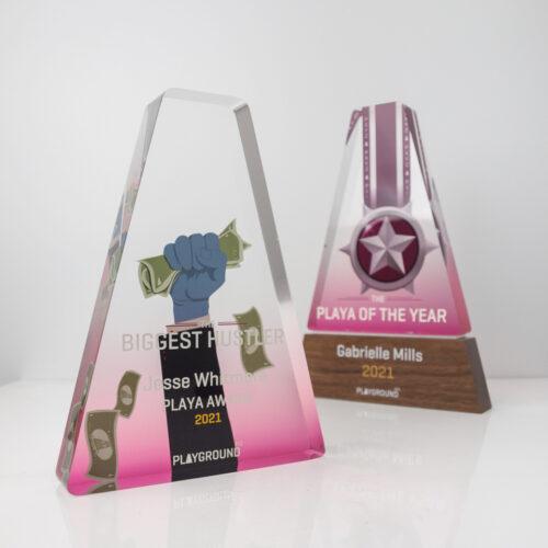 Playground XYZ Playa Acrylic Award Trophies