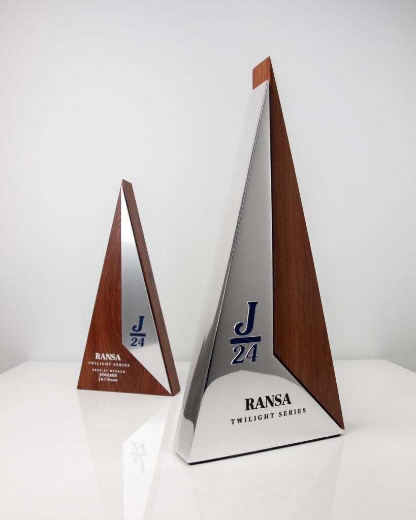 J24 Ransa Twilight Sailing Racing Peak Trophy