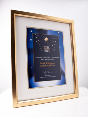 NESA Award Framed Certificate Plaque