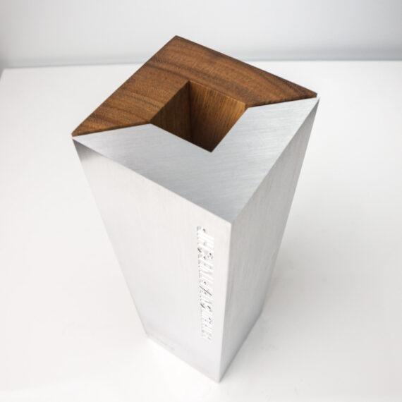 OKI commemorative sustainable trophy detail