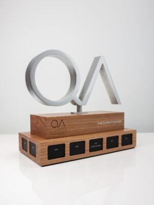 Quinton Anthony QA Way Perpetual Award Trophy