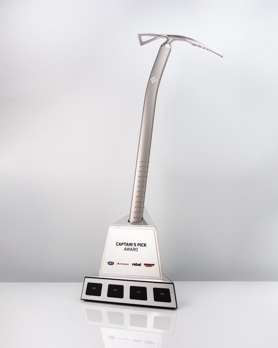 The Super Retail Group Captain's Pick Custom Perpetual Trophy