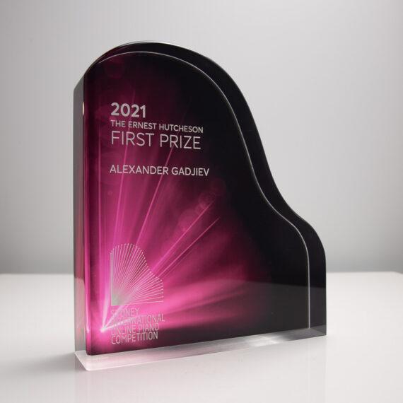The Sydney International Piano Competition Award Custom Trophy