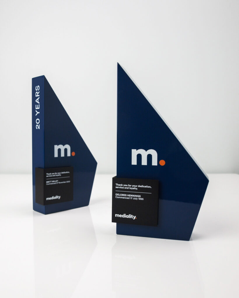 Mediality Forma Custom Awards Sydney