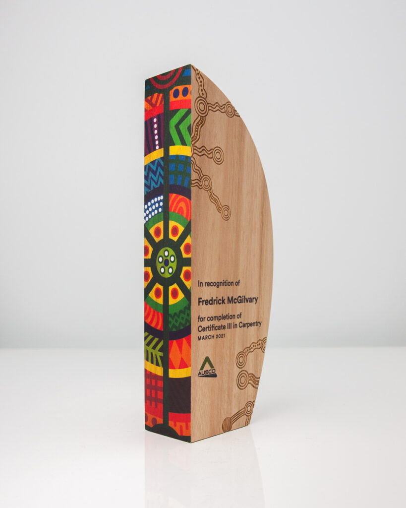 Ausco Sustainable Colourful Achievement Award